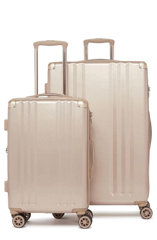 Calpak Ambeur 2-Piece Spinner Luggage Set - White