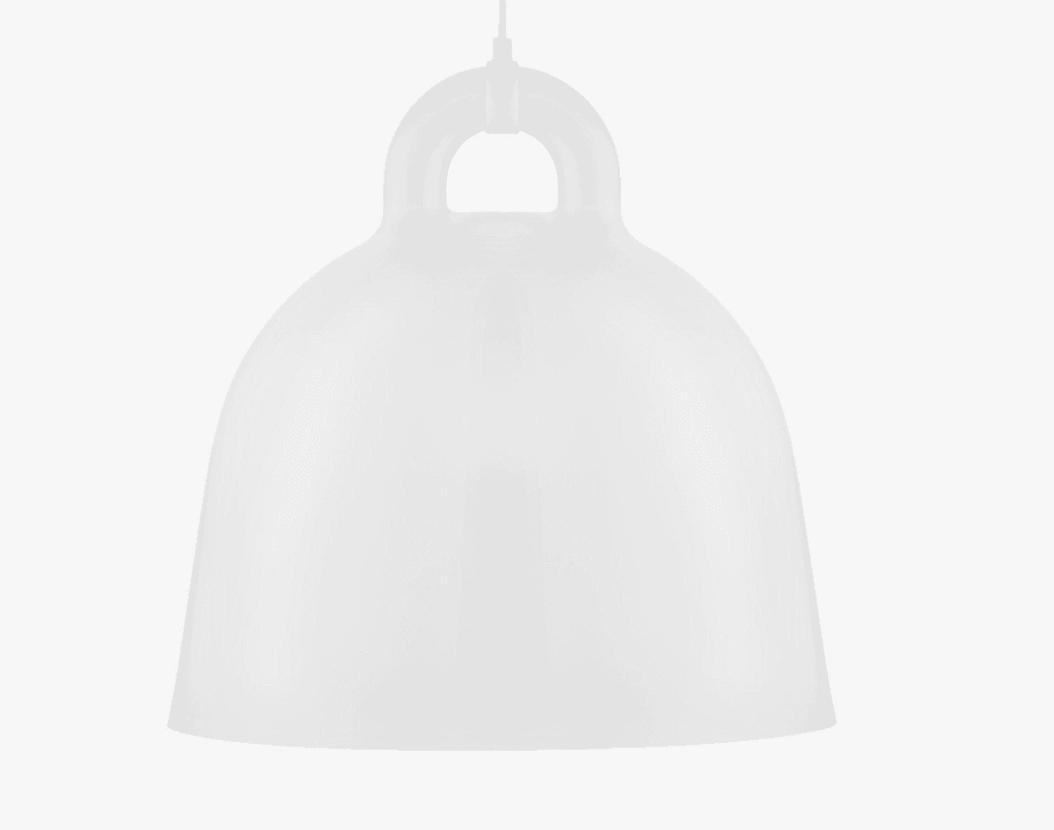 normann copenhagen bell lamp in white