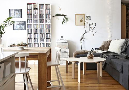 IKEA living room