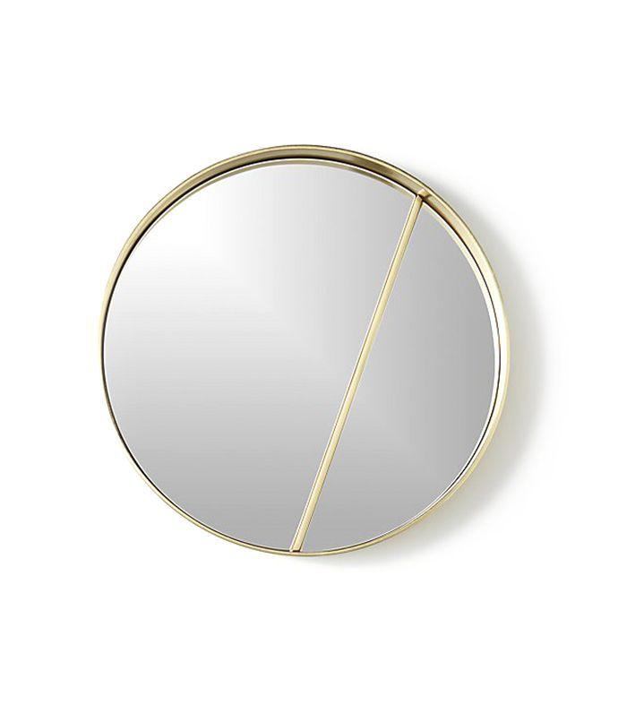CB2 Meridian Round Mirror