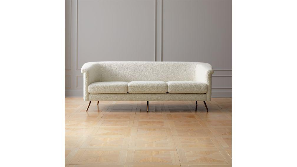 Vicente velvet sofa