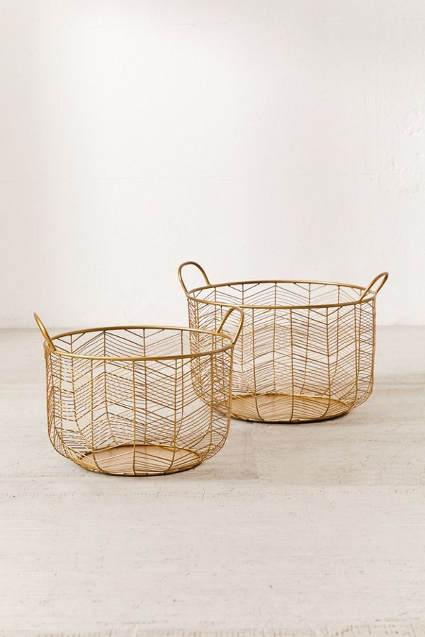 Louise Metal Basket