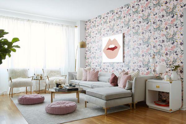 best spring paint colors - blush pink