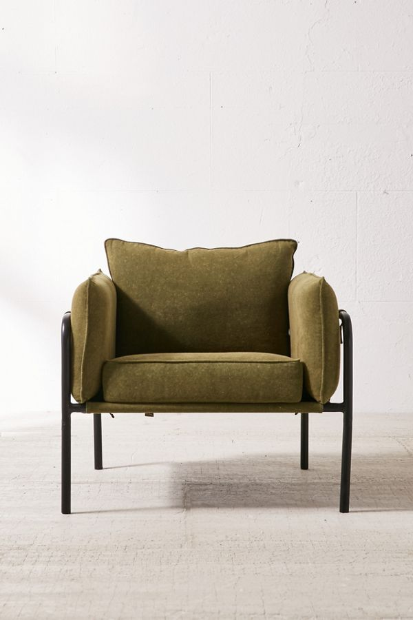 Urban Outfitters Howell Canvas Arm Chair
