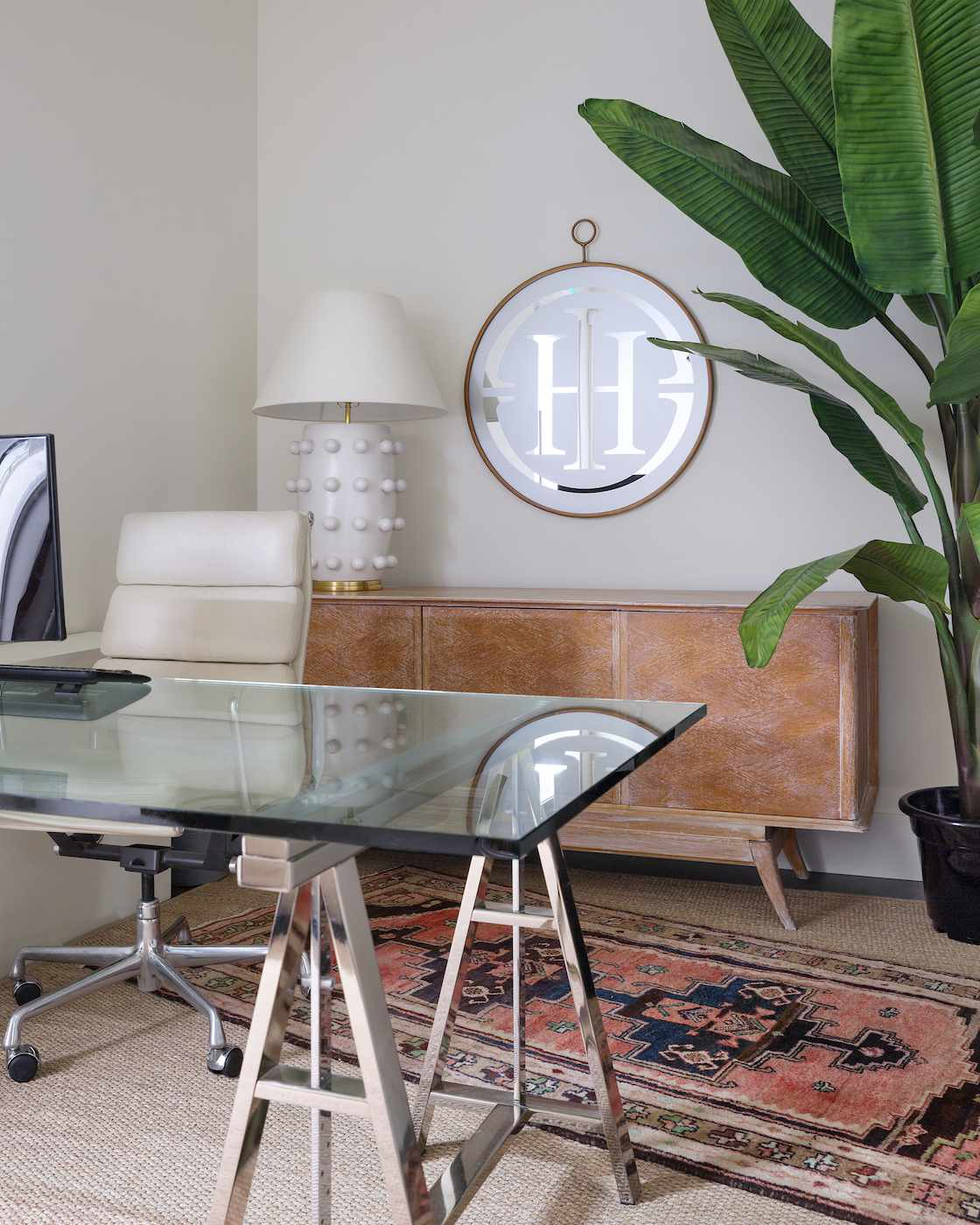 Office by Reena Sotropa In House Design Group