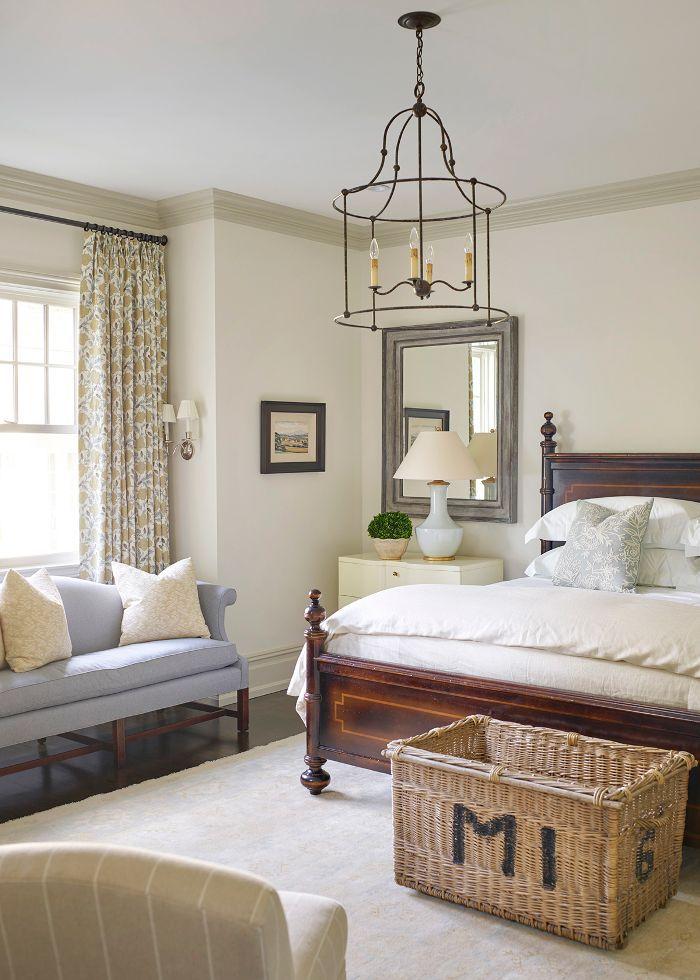 modern traditional bedroom
