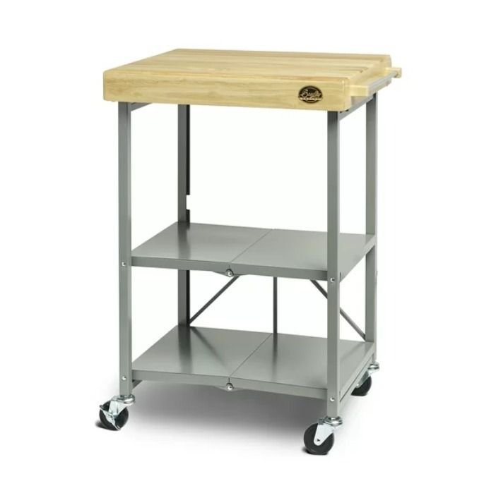 Bradley Smoker Kitchen Cart