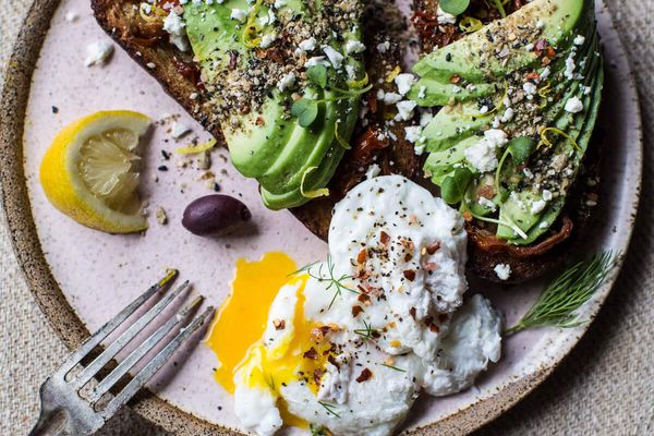 How to Grow Avocados at Home - Mediterranean Avocado Toast with Dukkah