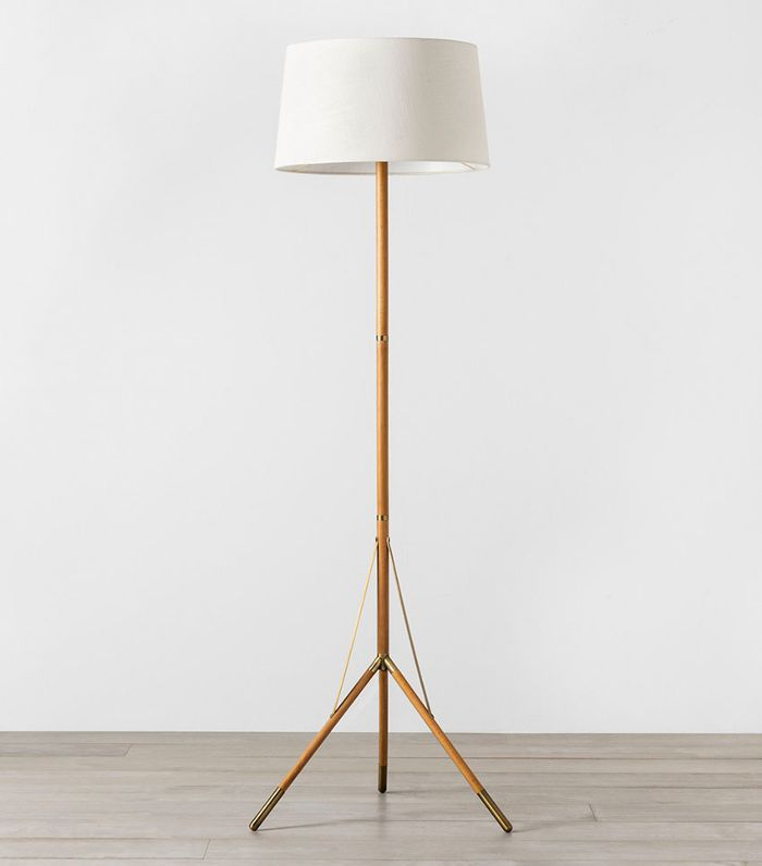 Hearth & Hand with Magnolia Floor Lamp with Natural Shade