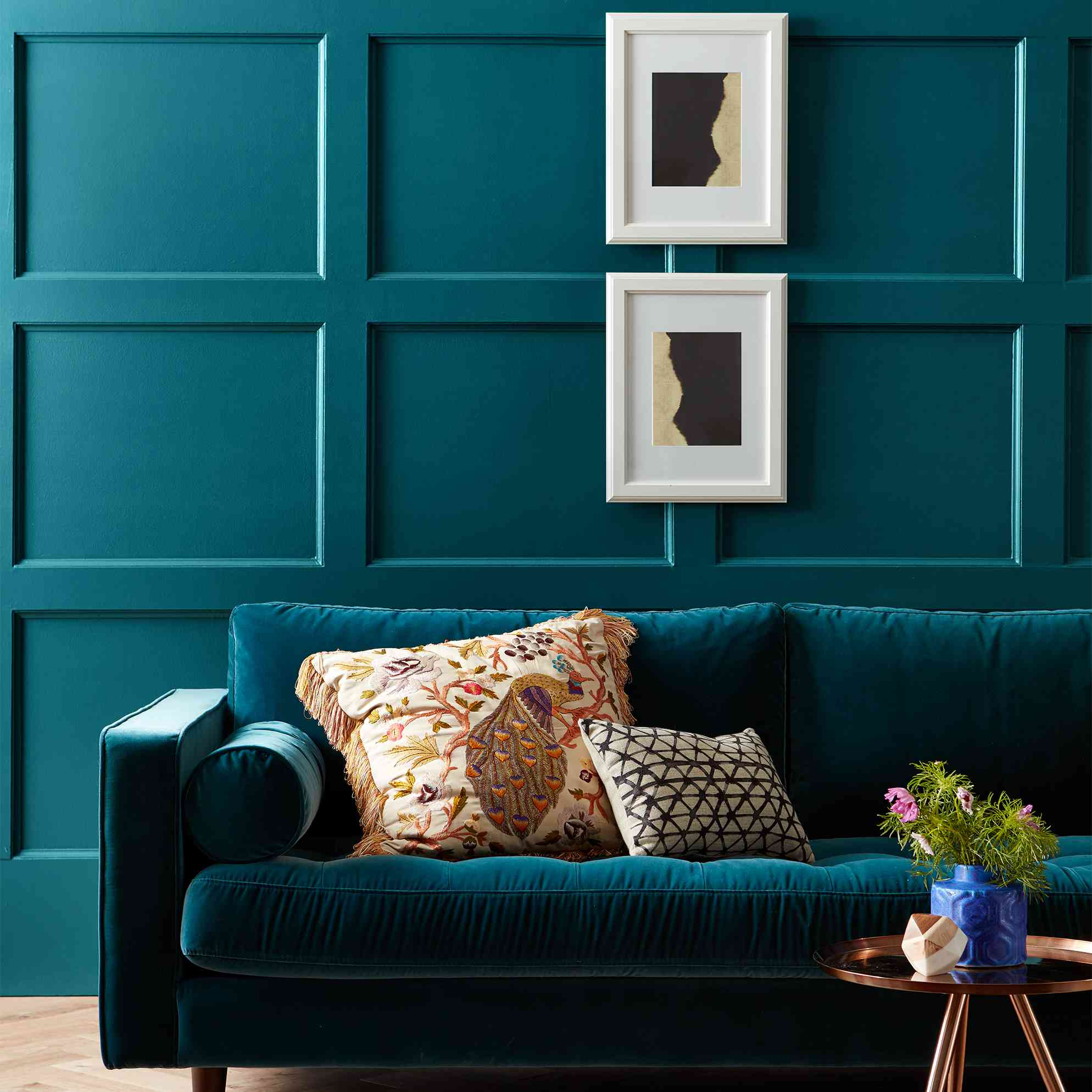 The 13 Best Teal Paint Colors To Add Drama To Any Room