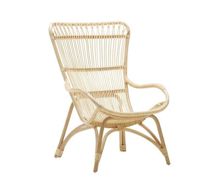 Pottery Barn Monet Rattan Chair