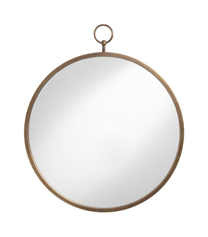 Brass Metal Loop Mirror by World Market