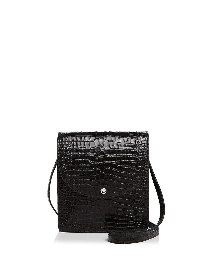 Elizabeth and James Eloise North/South Leather Crossbody
