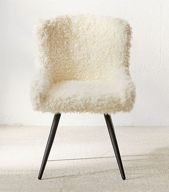 Stella Faux Fur Chair