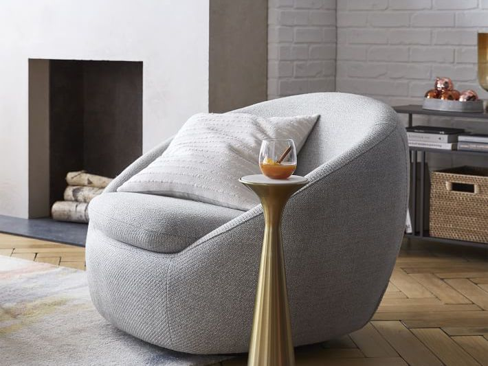 The 10 Best Barrel Chairs Of 2021, Modern Swivel Bucket Chairs