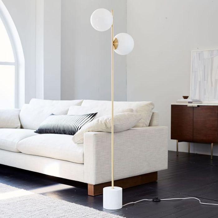 West Elm Sphere + Stem Floor Lamp