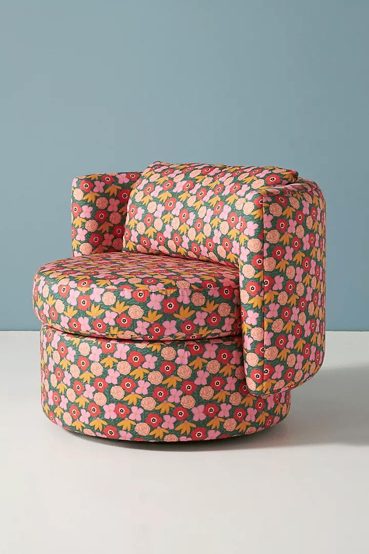 Anthropologie Swivel Chair