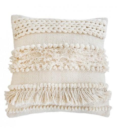 Pom Pom at Home Iman Pillow, Ivory