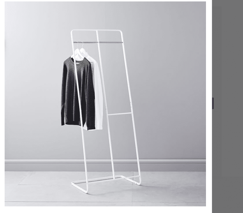 Two-Level Coat Rack