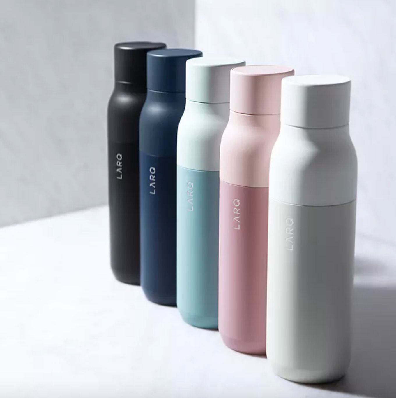 Self-Cleaning Bottle
