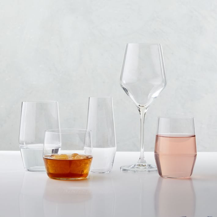 West Elm Oblique Glassware