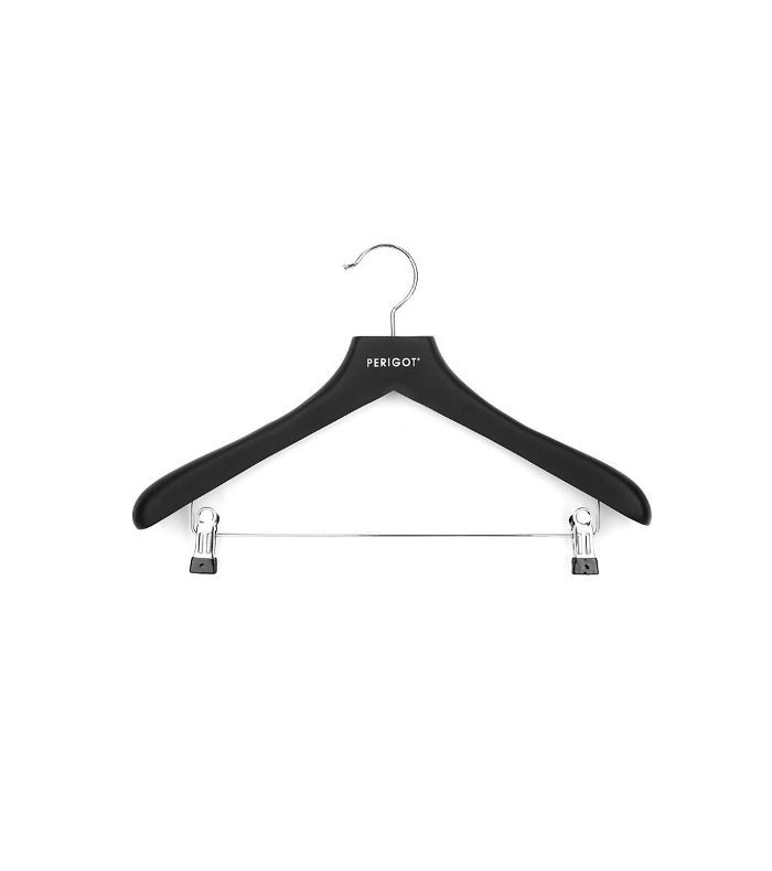 Women's rubber-coated clip clothes hanger