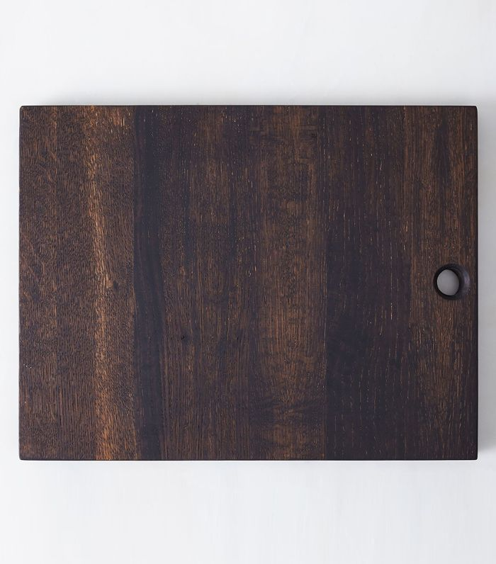 Bicyclette Oxidized Oak Serving Board