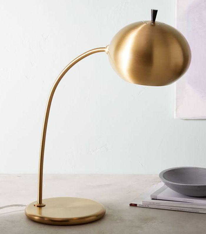 Petite Arc Metal Table Lamp