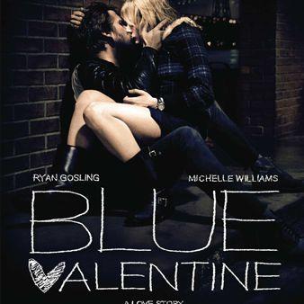 Póster San Valentín azul