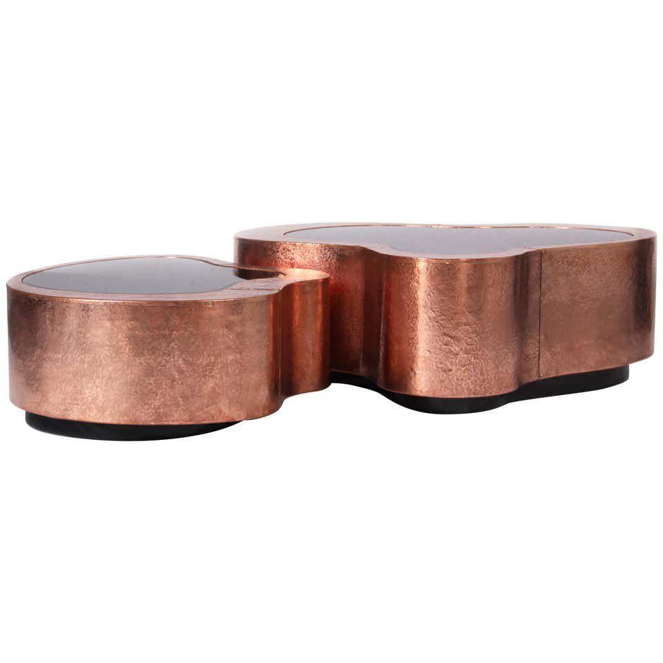 Mesita de cobre