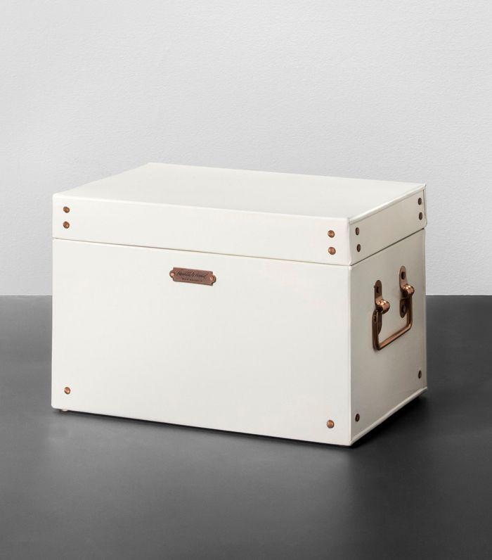 Hearth & Hand With Magnolia Storage Box Cream