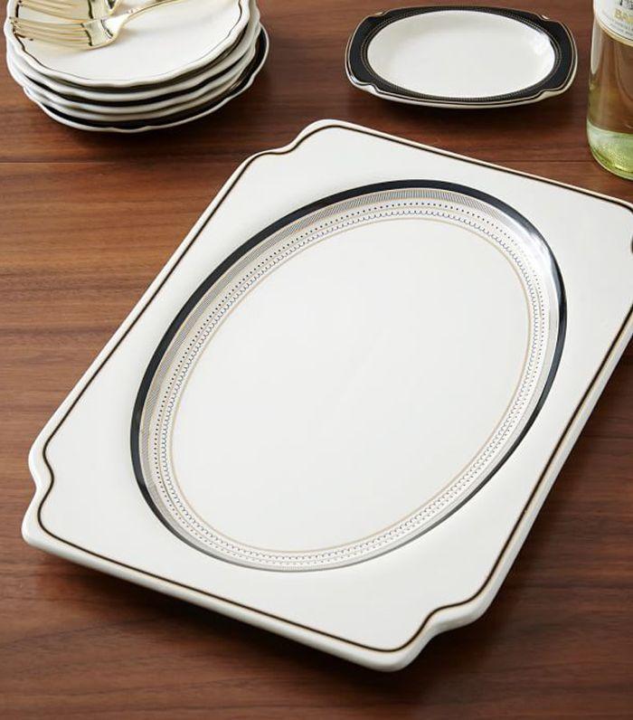 Gilded Serving Platter