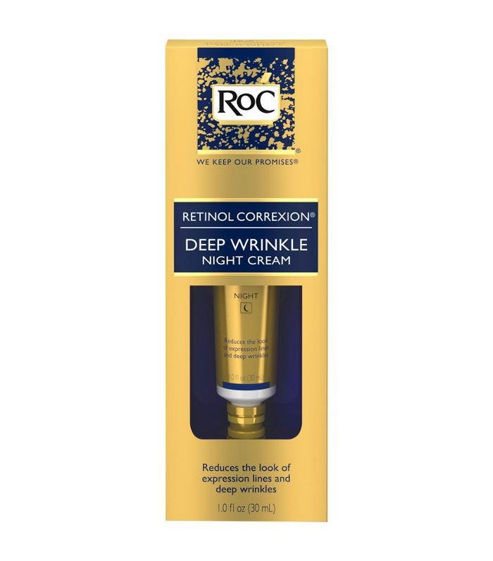RoC Retinol Correxion Deep Wrinkle Anti-Aging Night Face Cream Best Skincare at Target