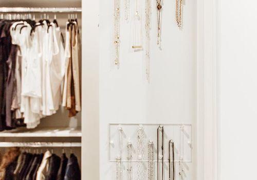 jewelry storage clear