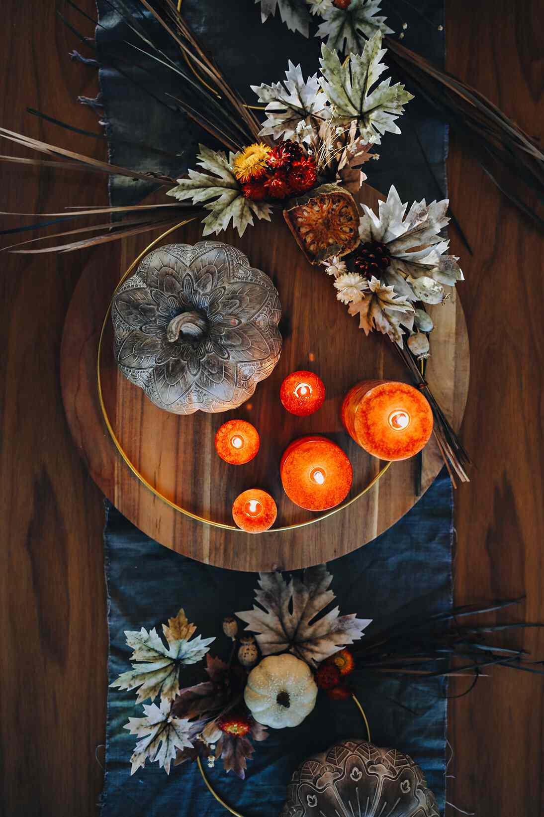 centerpiece fall wreath