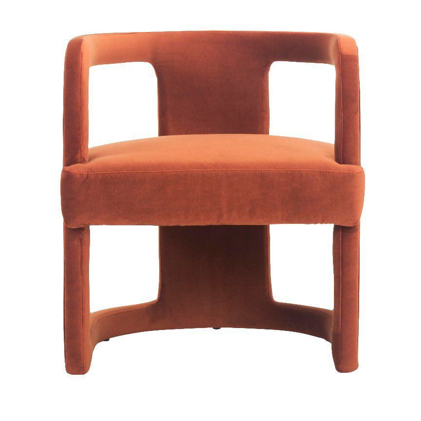 Side Chair in Rust