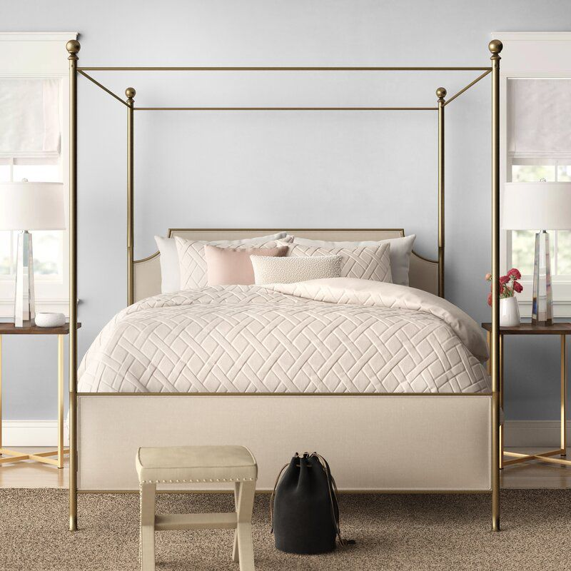 Kingsview Upholstered Canopy Bed