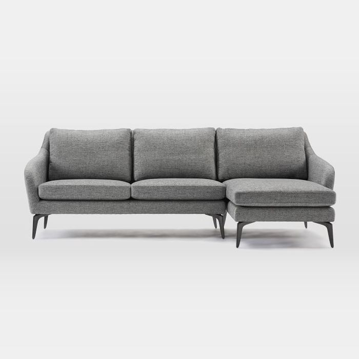 West Elm Alto 2-Piece Chaise Sectional