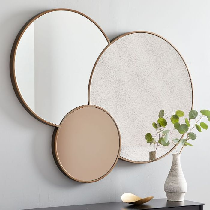 West Elm Foxed Trio Mirror