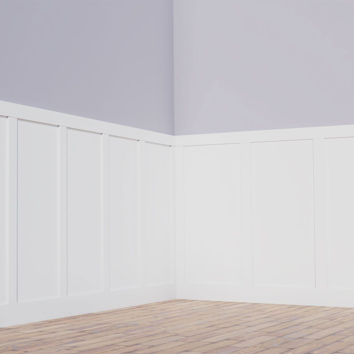 white wainscoting kit