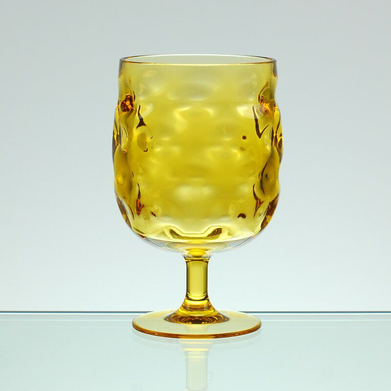 Ivy Bronx Bedell Stackable Acrylic Goblet