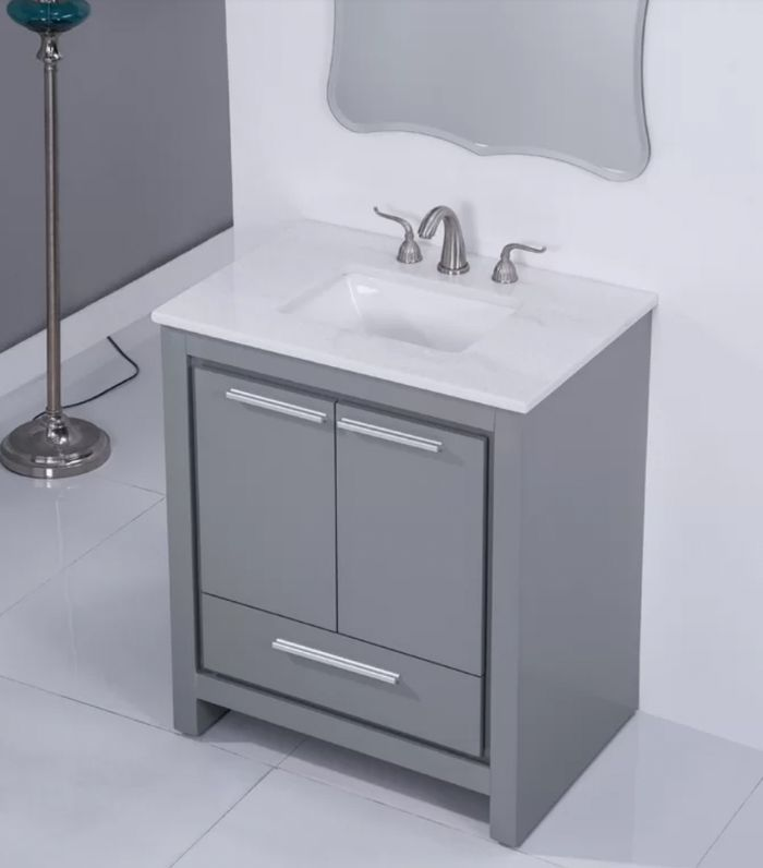 Ebern Designs Easterling Single Bathroom Vanity Set