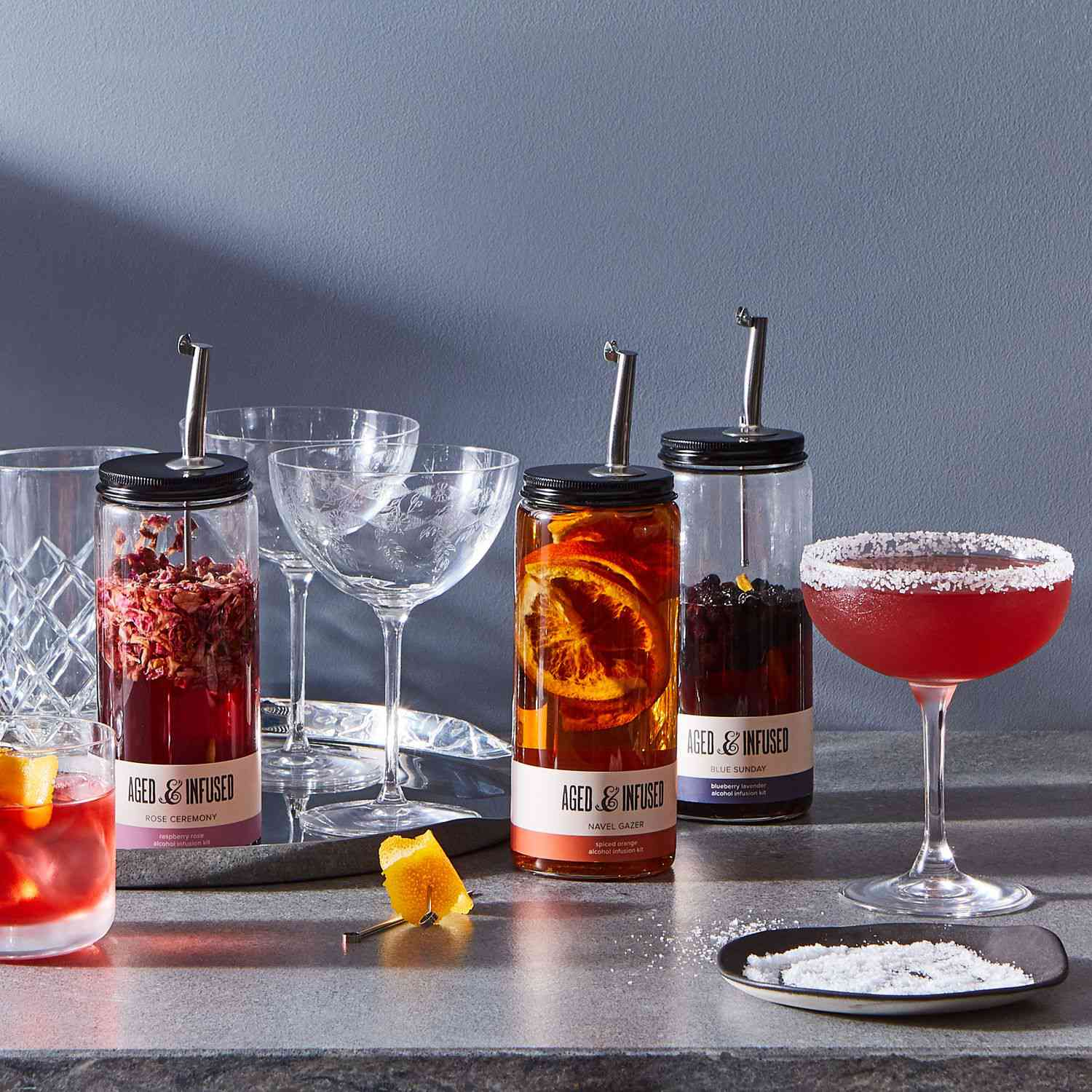 Food53 Aged & Infused Natural Liquor Infusion Kit