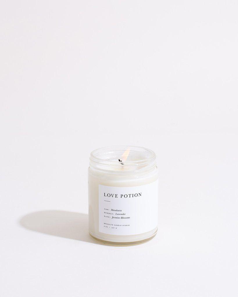 Brooklyn Candle Studio Love Potion Minimalist Candle