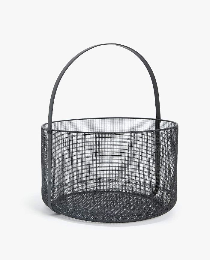 Zara Home Round Iron Basket