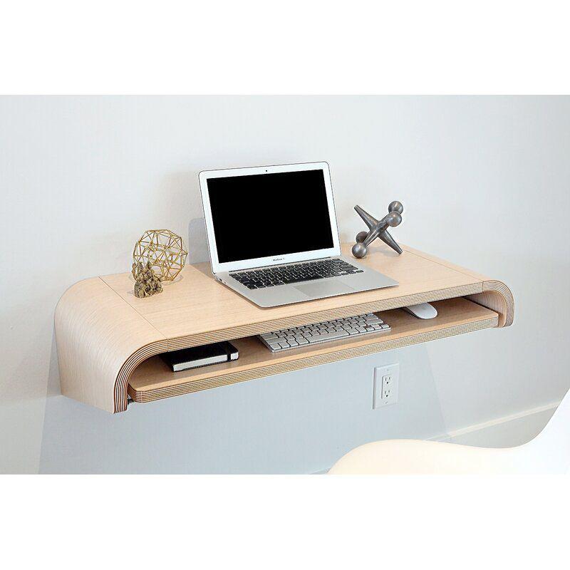 Orange22Modern Minimal Floating Desk