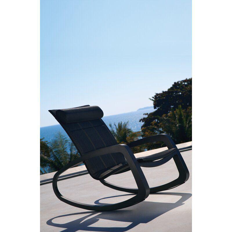 OASIQ Delancey Rocking Chair with Cushions