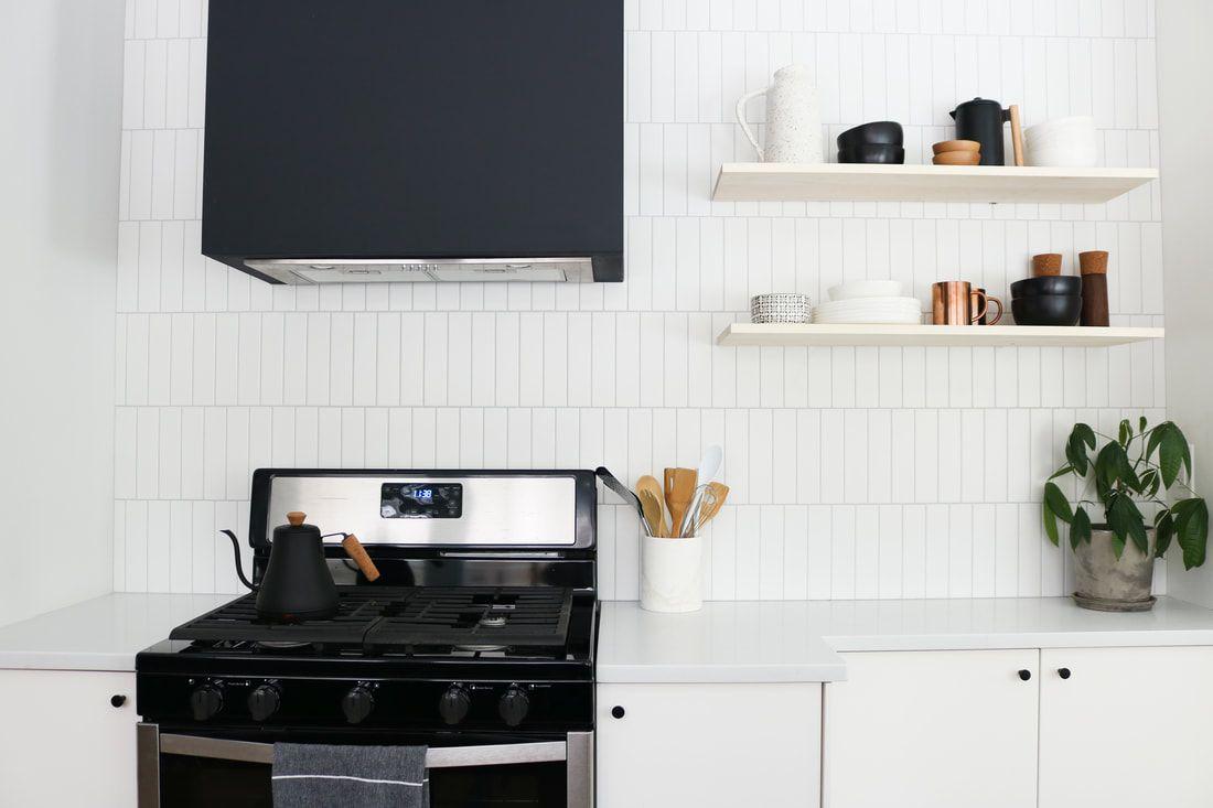 best kitchen ideas - black and white kitchen