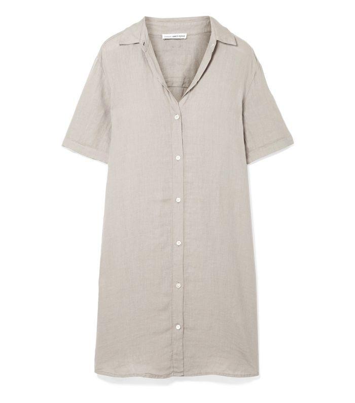 Linen Mini Dress