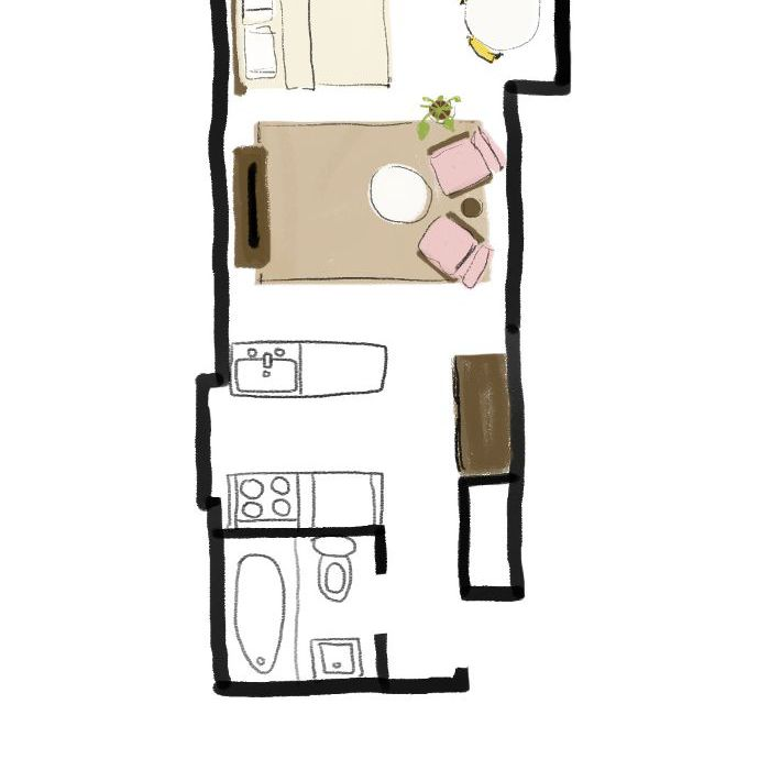 My Apartment Guide: One Studio Apartment 4 Ways—Follow Our Stylish Guide